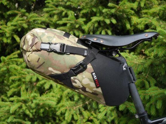 bikepacking seatbag repack